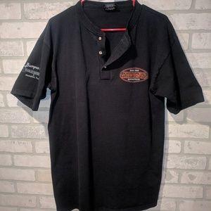 Harley Davidson graphic casual shirt, large